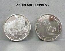 Pièce N°15 POUDLARD EXPRESS neuve / coin jeton pour album Harry Potter GRINGOTTS
