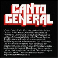 """MIKIS/NERUDA """"CANTO GENERAL"""" 2 CD NEW!!"""