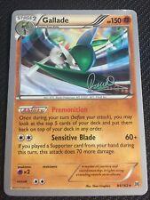 Pokemon TCG : 4 X GALLADE 84/162 World Championship PROMO Rare