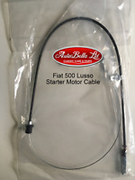 CLASSIC FIAT 500 L LUSSO STARTER MOTOR CABLE (SQUARE SPEEDO) - BRAND NEW