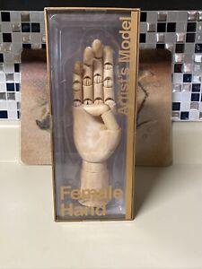 Barnes & Noble Wooden  Female Right Hand Artist's Model
