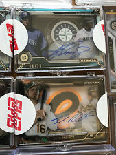 Mystery TOPPS STRATA RE-PACK KEN GRIFFEY JR AUTO MORE HITS JUMBO PATCH 1/1  READ