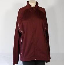 Adidas Climaproof Maroon Storm Jacket  Womens Extra Large XL NWT  $120