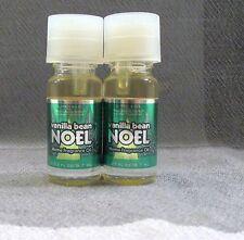 BATH & BODY WORKS 2 VANILLA BEAN NOEL HOME FRAGRANCE OILS.33 fl oz~SLATKIN & CO