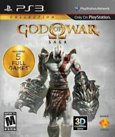 God of War Saga - Authentic Sony Playstation 3 PS3 Game