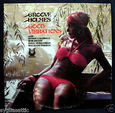 GROOVE HOLMES-GOOD VIBRATIONS-Jazz Album-MUSE #MR 5167-Sexy Cheesecake Cover
