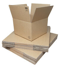 Double Wall Corrugated Cardboard Boxes 457x457x305mm. Packs of 20