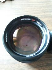 Minolta Maxxum 100mm F/2 Alpha Mount AF Autofocus Lens RARE Portrait lens