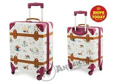 "Disney Store ANIMATORS' COLLECTION ROLLING LUGGAGE 21"" NEW NWT Parks Hard 2019"