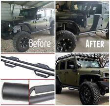 10- 18 fit Jeep Wrangler Jk 4 Doors Hoop Side Steps Running Boards Nerf Bars