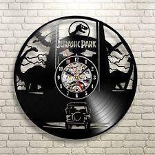 Jurassic Park Retro Art Vinyl Record Wall Clock Jurassic World Gift For KIds