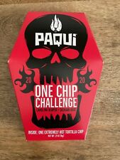 Paqui One chip challenge 2020 - Carolina Reaper  Unopened Box - BB 2.1.21
