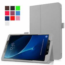 """Leather Tablet Stand Flip Case Cover For Samsung Galaxy Tab A6 10.1"""" T580 / T585"""