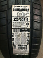 1 New 225 50 16 Dunlop Direzza DZ102 Tire