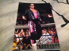 WWE WWF BRET HITMAN HART HAND SIGNED 12 X 8 SUPERSTAR CHAMPION HART FOUNDATION