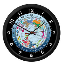 "Trintec 10"" World Time Clock WTC A Great Gift For Pilots & Flight Departments"