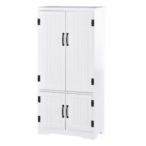 Kitchen Dresser Cabinet Hutch Pantry Furniture Storage Unit Cupboard Larder