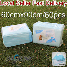X Large 60Pcs Pet Dog Cat Puppy Absorbent Wee Toilet Training Pad Diaper 60x90cm