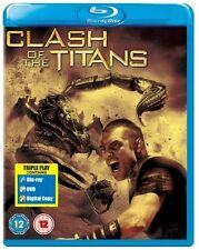CLASH OF THE TITANS - 2010  - BLU RAY + DVD - NEW / SEALED