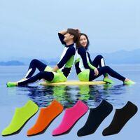 1pair Barefoot Water Skin Dry Shoes Aqua Socks Beach Swim Surf Yoga Exercise