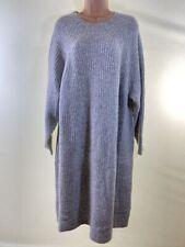 BNWOT NEXT grey super warm jumper dress PLUS SIZE 22 euro 50