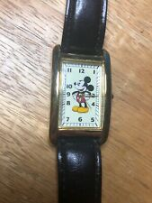 VINTAGE FOSSIL DISNEY MICKEY & CO MICKEY MOUSE WATCH LI 2004