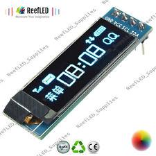"128x32 I2C IIC Serial Blue OLED LCD Display Module 0.91"" 12832 SSD1306 Arduino"