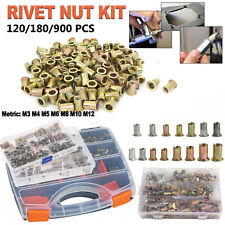 120180900 Rivet Nuts Kits For Rivnut Thread Setting Nutsert Hand Blind Riveter