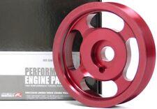 OBX Racing Red Underdrive Crank Pulley For Volkswagen Passat Jetta MK 3 / 4 2.8L