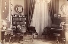 53962. Orig 1885 Album Page Albumen Photo FC Hyde Family Home East 82nd St NYC