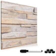 Magnetpinnwand Stone Wall Memoboard Magnettafel 40x40cm Notiztafel abwaschbar
