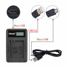 Camera Battery Charger NP-50 FujiFilm FinePix F660EXR F500EXR F750EXR F770EXR