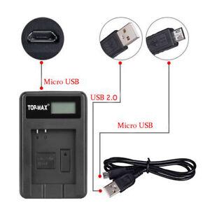 Camera Battery Charger NP-50 FujiFilm FinePix F660EXR F500EXR F750EXR F770EXR