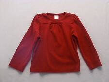 """Gymboree """"Holiday Friends"""" LS Red Holiday Christmas Top, 5"""