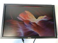 """Dell P2210f 22"""" Widescreen LCD Monitor DVI VGA No Stand See Description"""