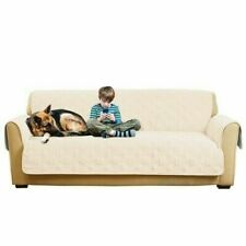 Sure Fit Non-Slip/Waterproof Pet SlipCover Furniture Cover-  Ivory