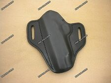 """1911 5"""" With Rail Leather Gun Holster Left Hand Black Made In U.S.A."""