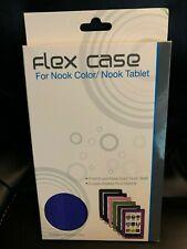 New Blue FLEX CASE FOR NOOK Color / Nook Tablet