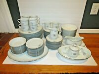 Sango China Morena 6280 Pattern 90-Piece Set Service Cup Dinner Soup Incomplete