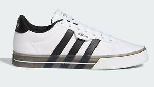 Adidas FW7049 Daily 3.0 White Black Casual Skate Boarding Shoe