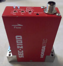 HORIBA STEC SEC-Z12DM MASS FLOW CONTROLLER SEC-Z1DD GAS:H2 RANGE:15 SLM