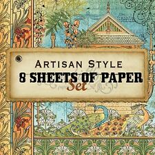 "GRAPHIC 45 ""ARTISAN STYLE"" 12X12 PAPER COLLECTION (8 SHEETS)  SCRAPJACK'S PLACE"