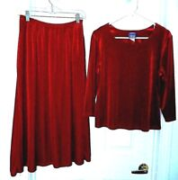 Signature Collection by Vicki Wayne Skirt Set-PM  Elegant holiday/office attire!