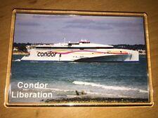 Condor Ferries CONDOR LIBERATION Large Fridge Magnet Fast Ferry Austal Poole