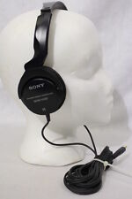 SONY MDR-V100 Dynamic Stereo Monitor Series Headphones, Black
