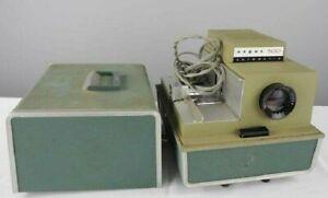 Vntg Argus 500 Automatic Slide Projector Model 58 Portable w/case & Cord