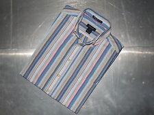 Gant mens cotton striped long sleeve shirt size M