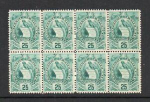 Guatemala - Sc# 107 BK(8) Mint dist gum    -     Lot 0921291