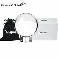 """Tensphy K9 Palla di Cristallo con Supporto Pollici Decorazioni 3.15""""/ 8 CM"""