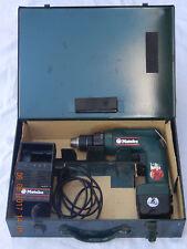 METABO BEAT 9,6/2 R+L Akkuschrauber inkl. Koffer und ladegerät, geprüft